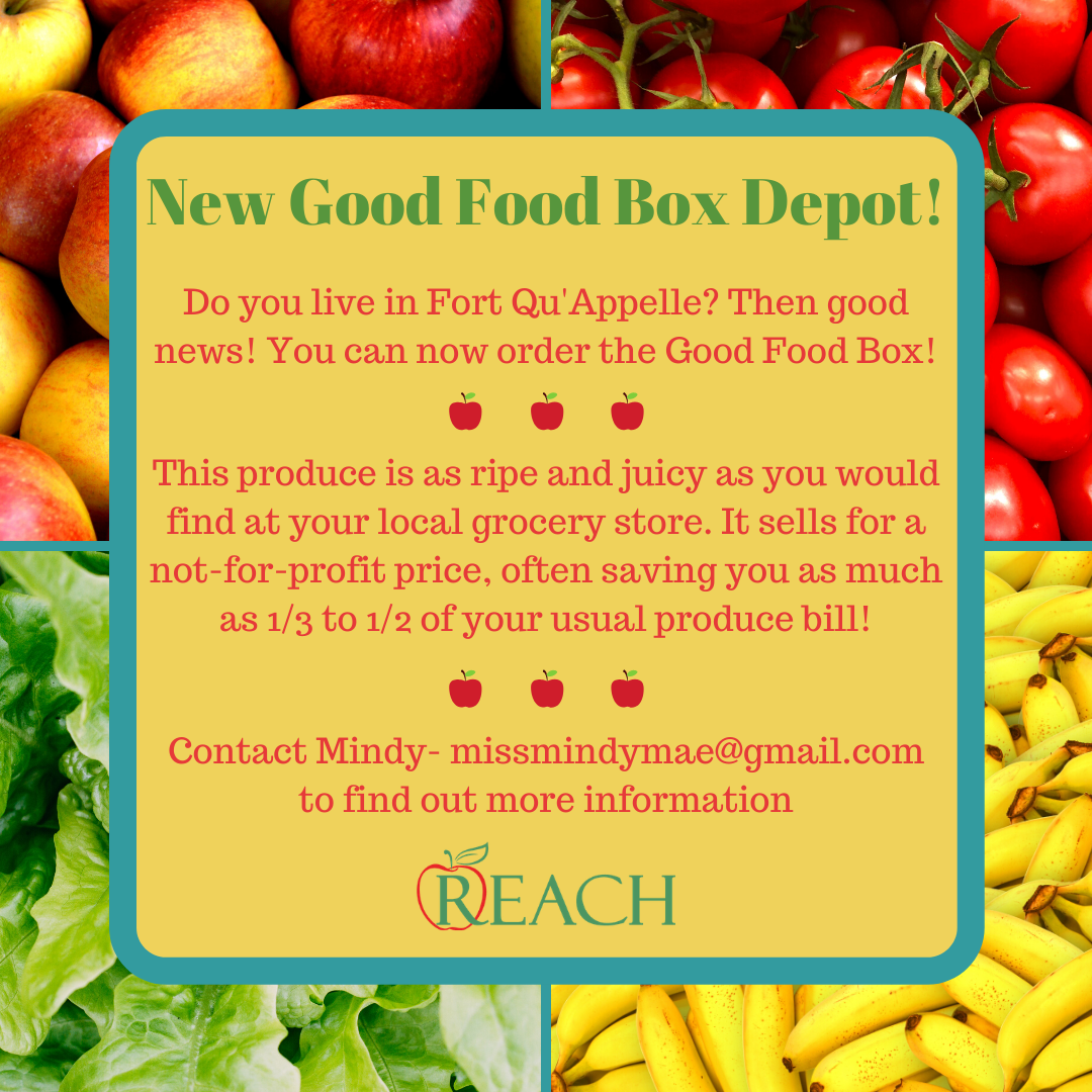 The Good Food Box promo AD